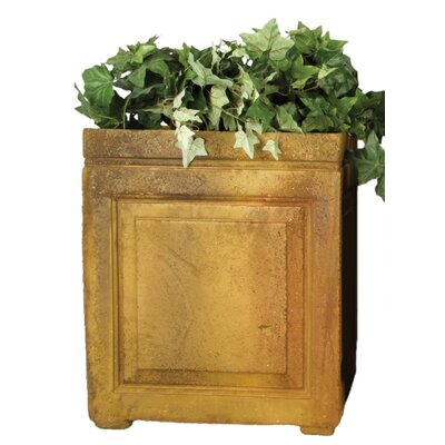 OrlandiStatuary Large Panel Square Planter