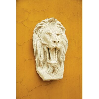 OrlandiStatuary Grotesque Lion Mask Wall Decor