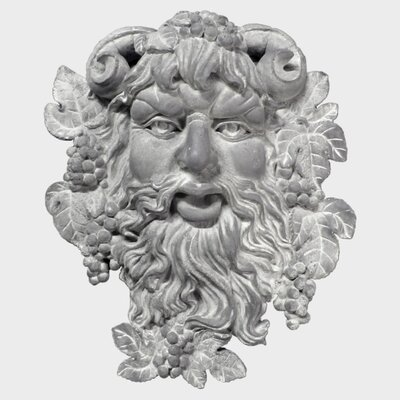 OrlandiStatuary Bacchus of Pisa Wall Decor