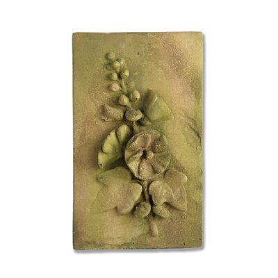 OrlandiStatuary Hollyhock Wall Decor