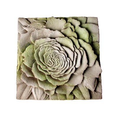 Rose Plaque Wall Decor