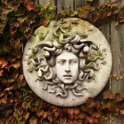 OrlandiStatuary Medusa Wall Plaque Wall Decor | Wayfair