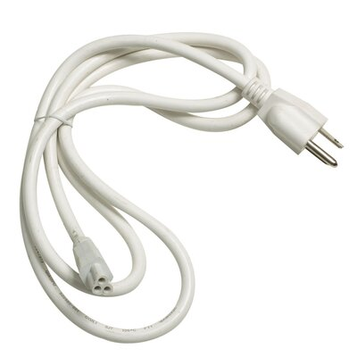 Zee Lite Line Power Cord in White