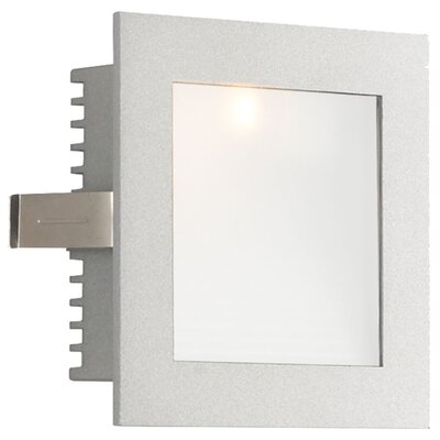 Step Light Wall Recessed Step Light In White