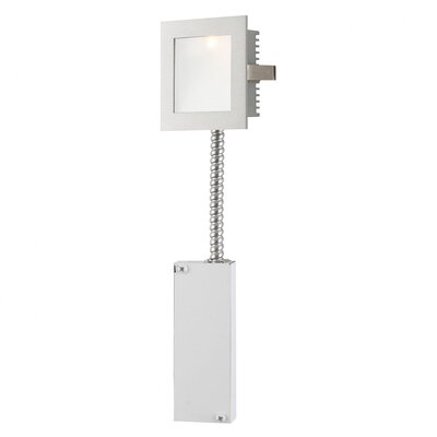 Step Light Wall Recessed Step Light In Metallic Grey With Driver