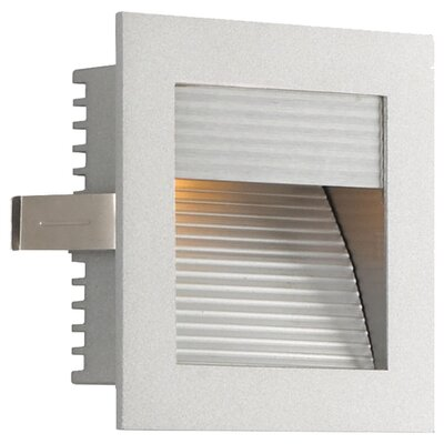 Step Light Wall Recessed Step Light In Bronze With Driver