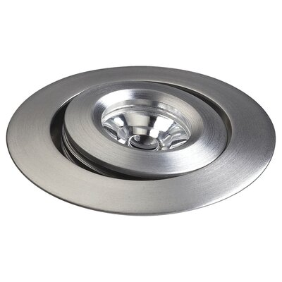 Buttons LED Adjustable Smooth Saucer with Source