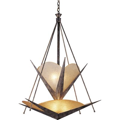 Compass Rose North East 6 Light Chandelier
