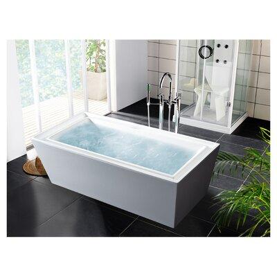 "Aquatica PureScape 71"" x 34"" Freestanding Acrylic Bathtub"