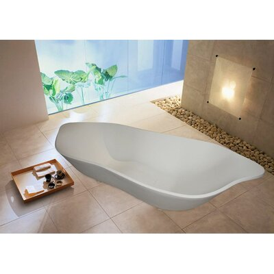 "Aquatica PureScape 86"" x 35"" Bathtub"