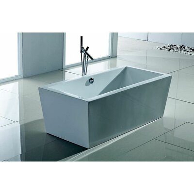 "Aquatica PureScape 67"" x 32"" Bathtub"