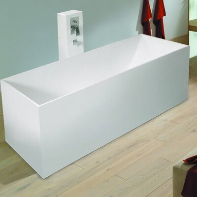 "Aquatica PureScape 67"" x 28"" Freestanding AquaStone™ Bathtub"