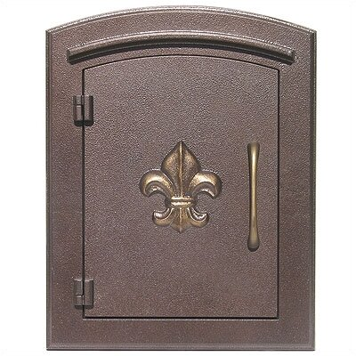 Manchester Column Mounted Mailbox W Decorative Accent