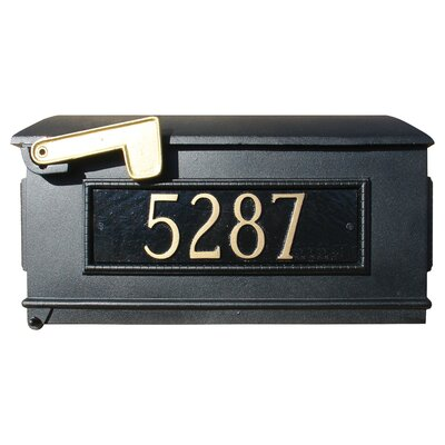 Lewiston Mailbox with 3 Address Plates