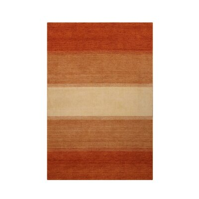 Noble House Fantasy Rust/Peach Rug