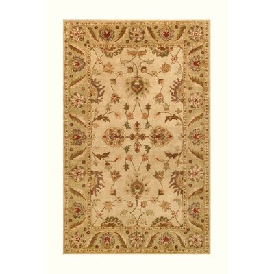 Noble House Golden Beige/Light Green Rug