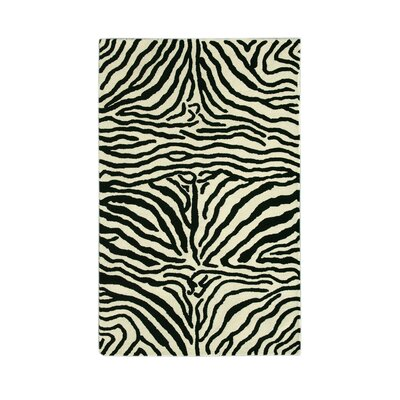 Noble House Safari Black/White Rug