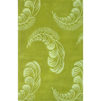 Noble House 75Floral Light Green Rug