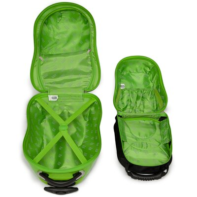 TrendyKid 2 Piece Archie Alien Children's Luggage Set