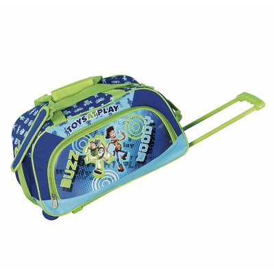 "Disney by Heys Kids 18"" 2-Wheeled Duffel"