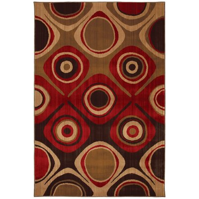 Mohawk Select Select Kaleidoscope Danger Zone Red Rug