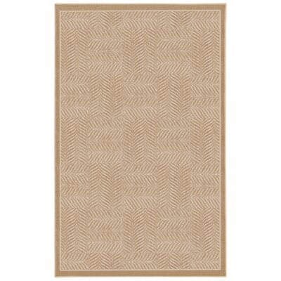 Mohawk Select Casual Concepts Tiger Patch Clay Beige Rug