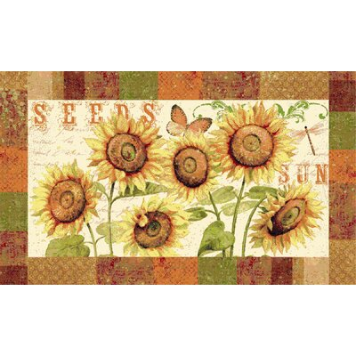 Mohawk Select New Wave Kitchen Sunshine Seeds Rug (Set of 3)