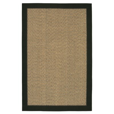 Mohawk Select Raffia Black/Gold Reed Rug