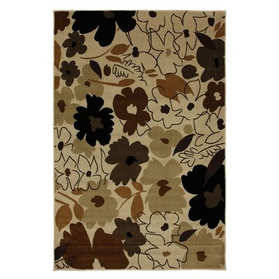 Versaille Multi Painted Garden Rug