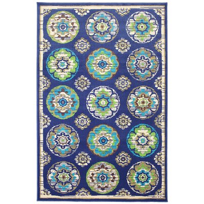 Mohawk Select Outdoor Patio Woven Clover Leaf Wildaster Rug