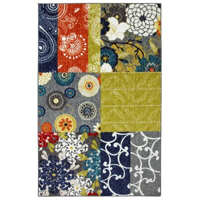 New Wave Multi Secret Garden Patch Rug
