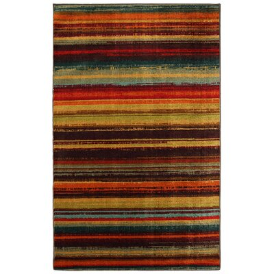 Mohawk Home New Wave Multi Boho Stripe Print Rug