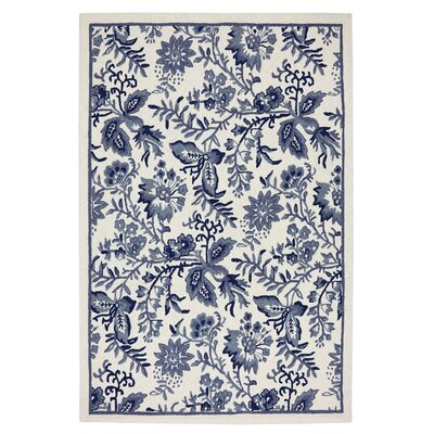Mohawk Select Imports Blue Jacobean Rug
