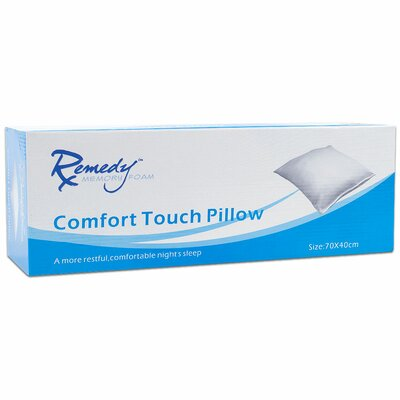 Remedy Memory Foam Comfort Touch Pillow