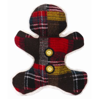 Hugglehounds Wooly Madras Man Plush Dog Toy