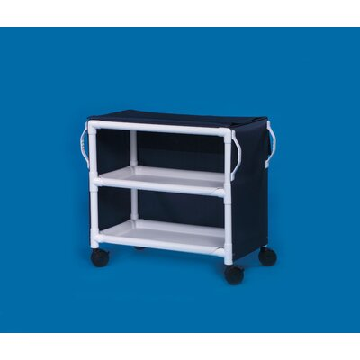 Innovative Products Unlimited Deluxe 2 Shelf Linen Cart