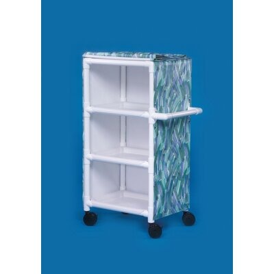 3 Shelf Multi-Purpose Deluxe Cart