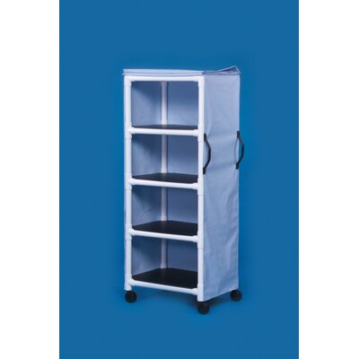Innovative Products Unlimited 4 Shelf Multi-Purpose Standard Cart