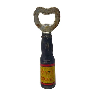 Happy Brew Cast Iron Bottle Opener