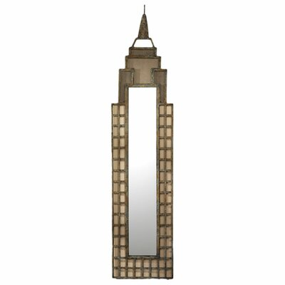 1930s Art Deco Skyscraper Wall Mirror