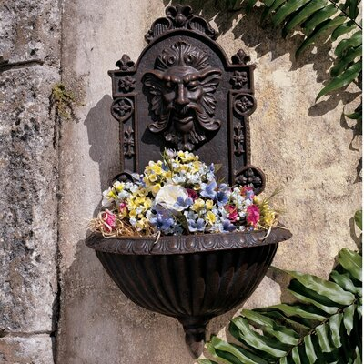Greenman Sculptural Garden Wall Décor