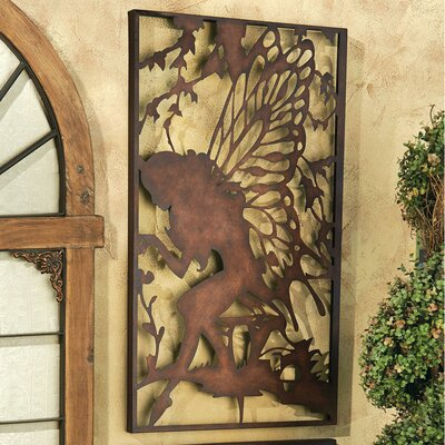 Secret Garden Fairy Starglow Metal Wall Decor
