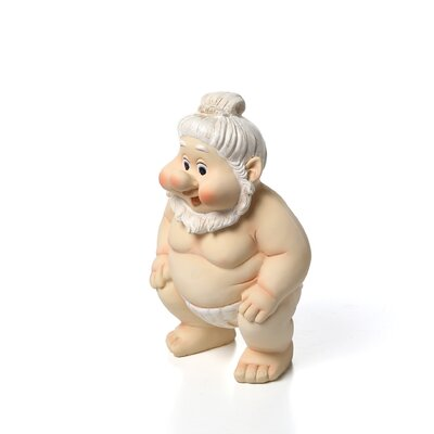 Far East Gnome Statue Set Sumo Statue