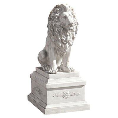 lion of florence sentinel statue wayfair. Black Bedroom Furniture Sets. Home Design Ideas