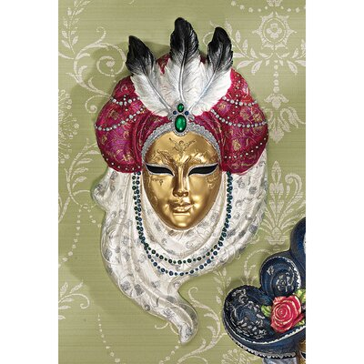 Noble Ladies of the Venice Carnivale Signora Bonifati Wall Mask