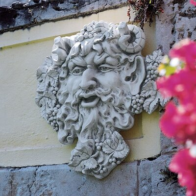 Bacchus God of Wine Greenman Wall Decor