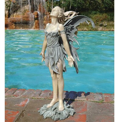 Design Toscano Spirit of The Wind Fairy Statue