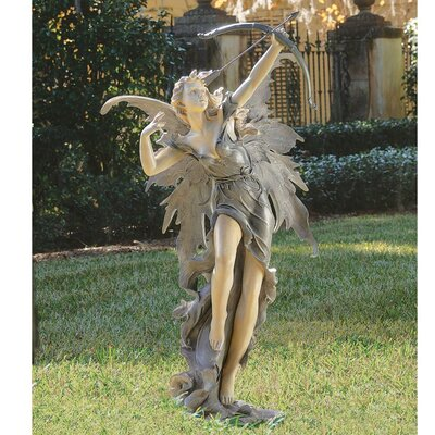 Design Toscano Rhiannon The Archer Garden Fairy Statue