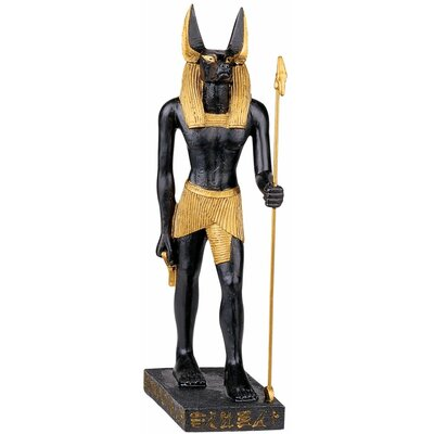Anubis God of the Egyptian Realm Statue