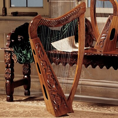 Design Toscano Celtic Heather Harp